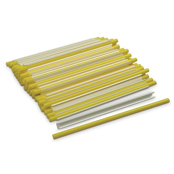 Picture of Locking Pipe Closures - Pack of 50 - Yellow
