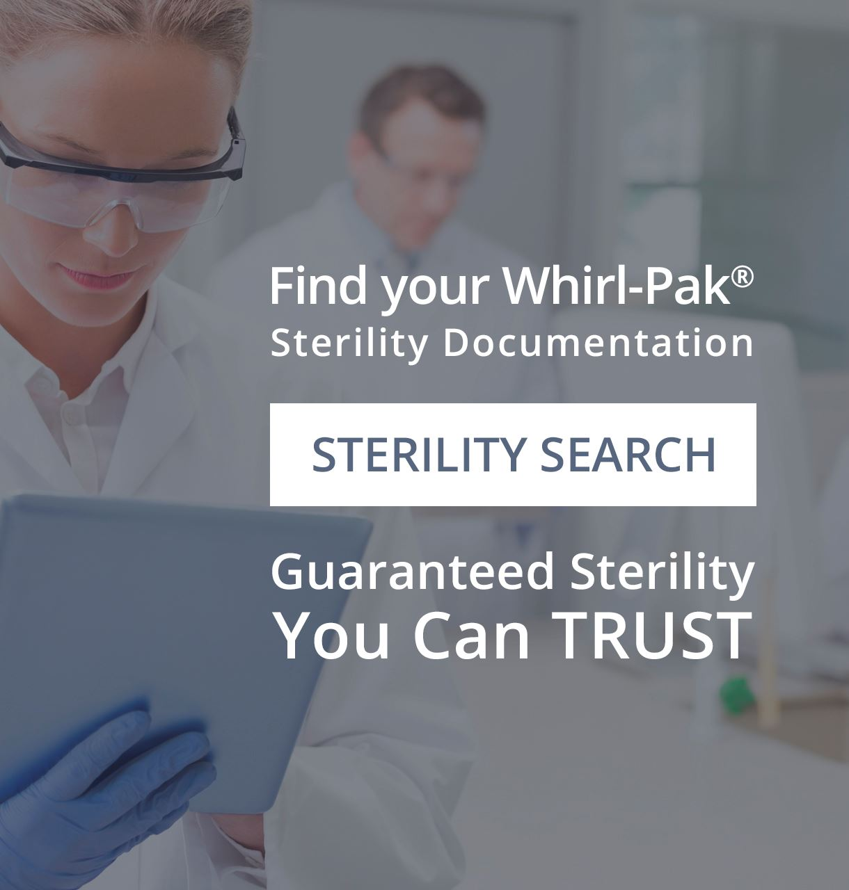Find a Sterility Document