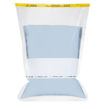 Picture of Whirl-Pak® Flat Wire Bags with Write On Strip 123 oz