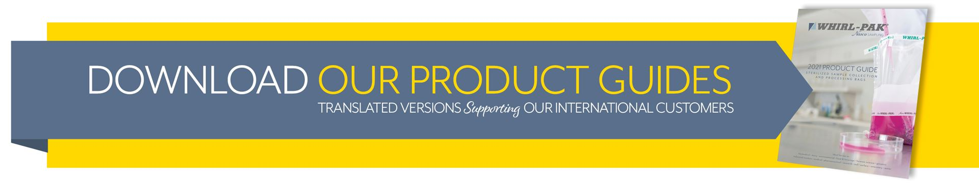 Download our Latest Product Guide